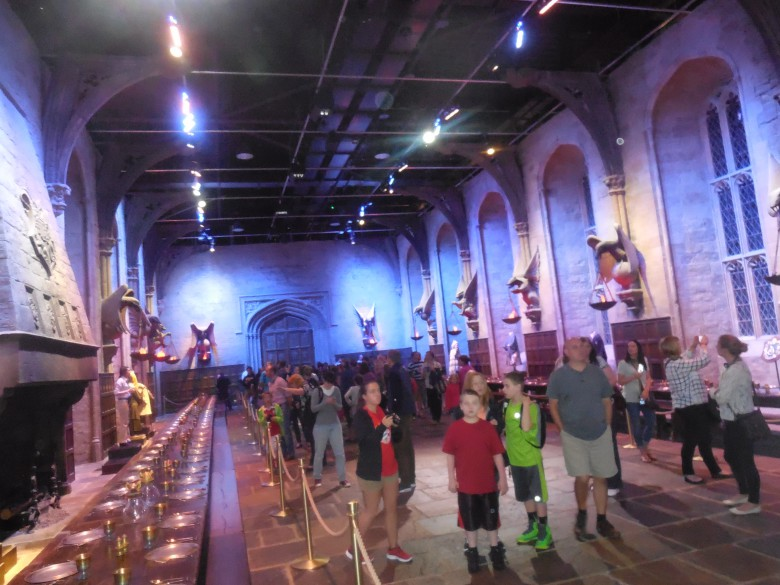 The Great Room at Hogwarts