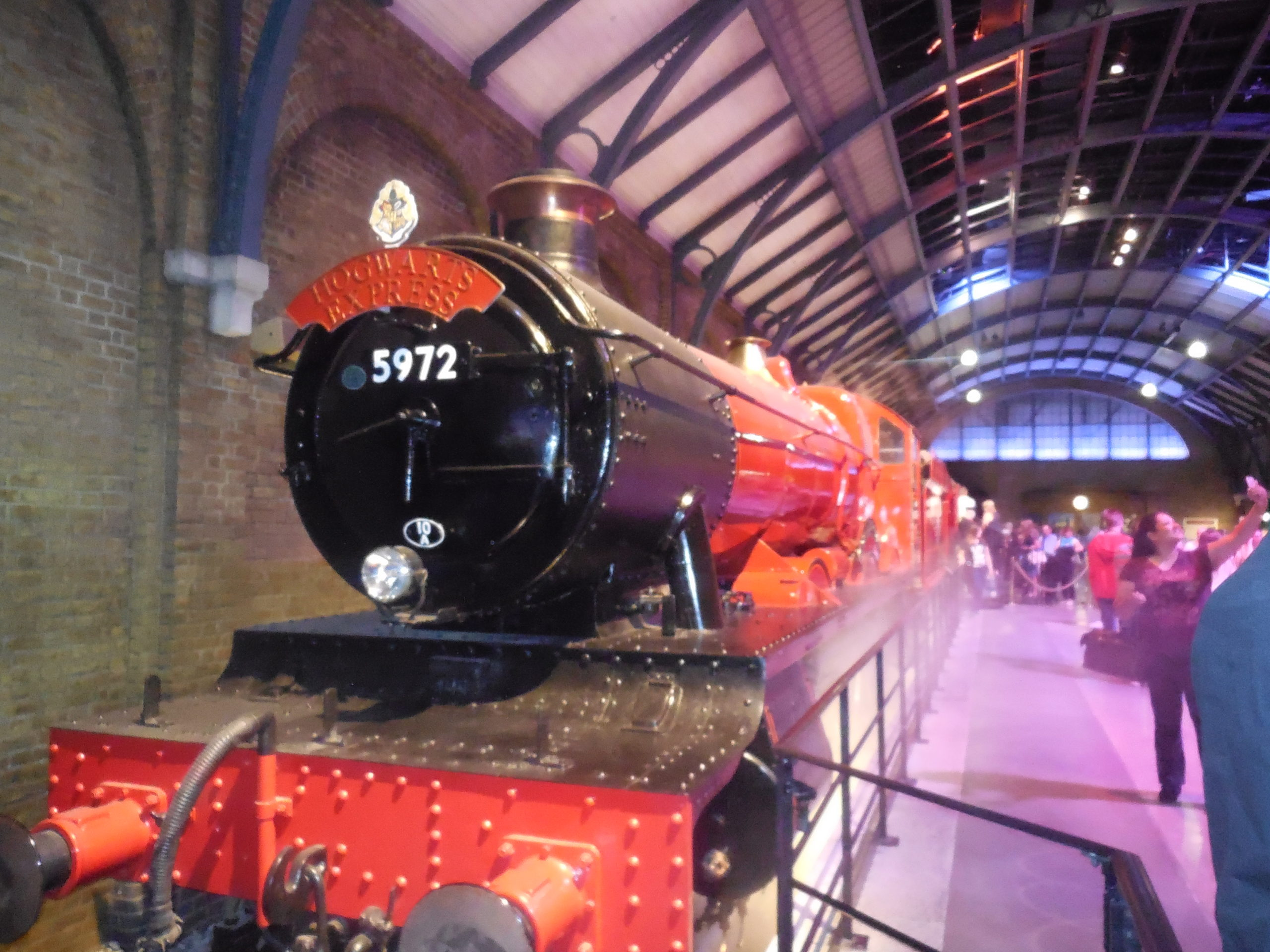 The Hogwarts Express at the Harry Potter Studio Tour