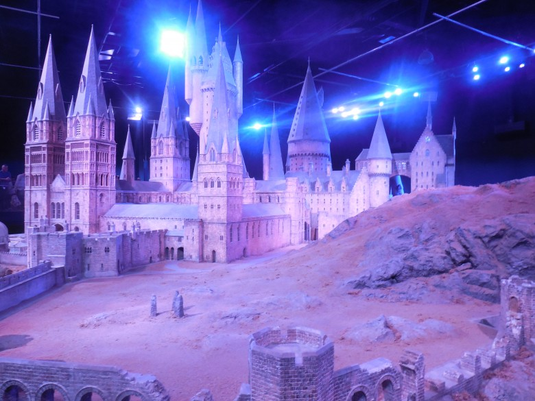 Fans and their families love the Harry Potter Studio tour near London