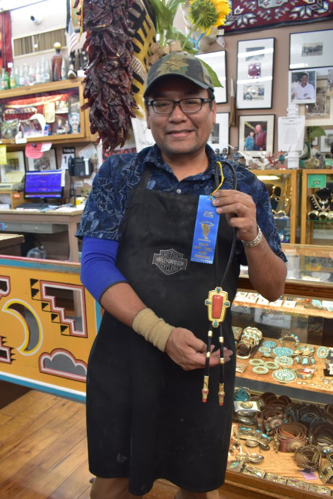 Daryl Dean Bagay and his award-winning $36000 bolo