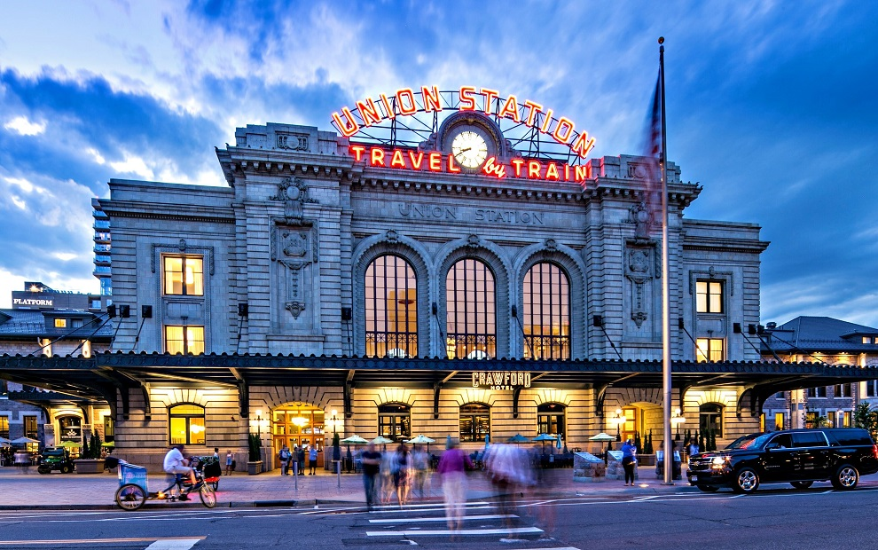 Denver Union Station and The Crawford Hotel
