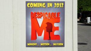 Despicable Me underway at Universal Orlando