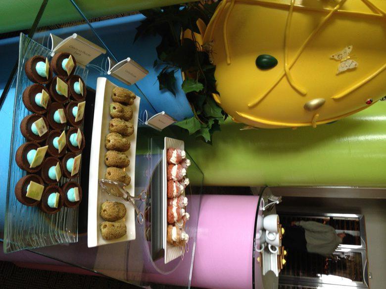 Desserts at the Sunday brunch Ritz Carlton Half Moon Bay