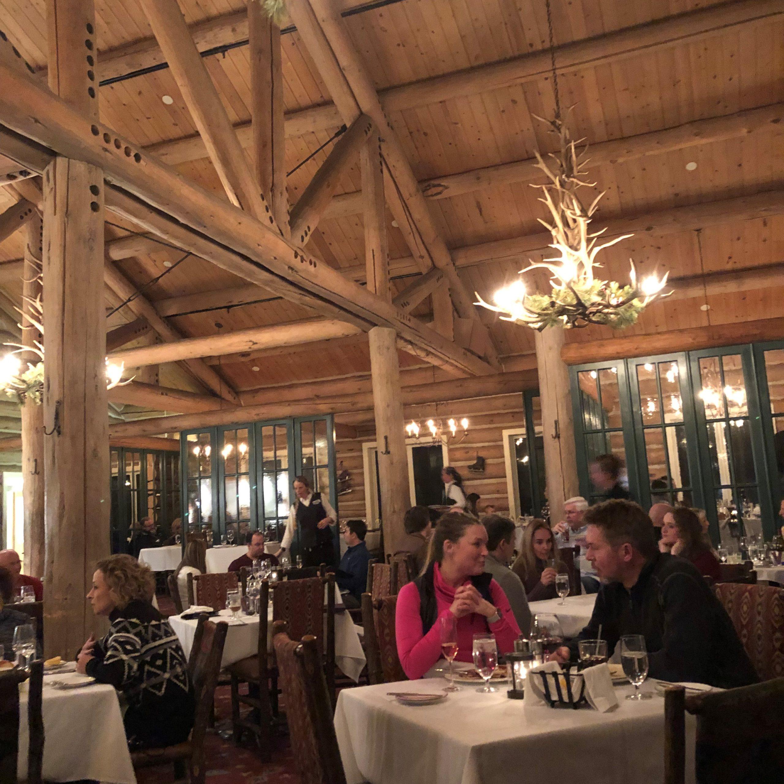Dinner at Beanos Cabin, Beaver Creek Ski Resort