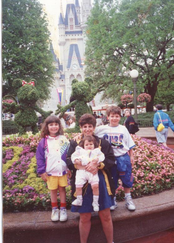 TakingTheKids in 1992 at DisneyWorld