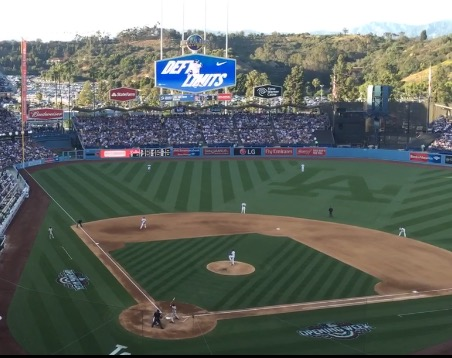 Baseball, the Dodgers and the Honorable First Pitch