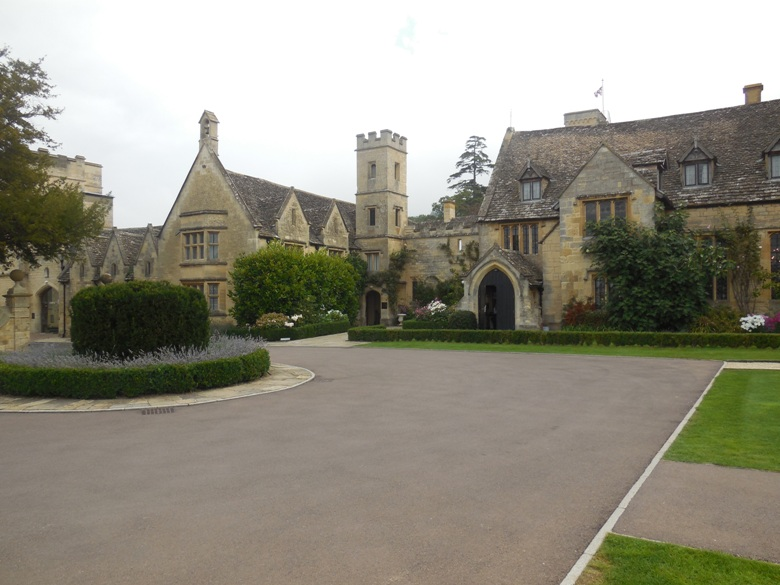 In the Cotswolds, like walking onto the set of Downton Abbey