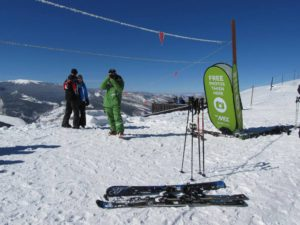 EpicMix photographer at work on Vail Mountain
