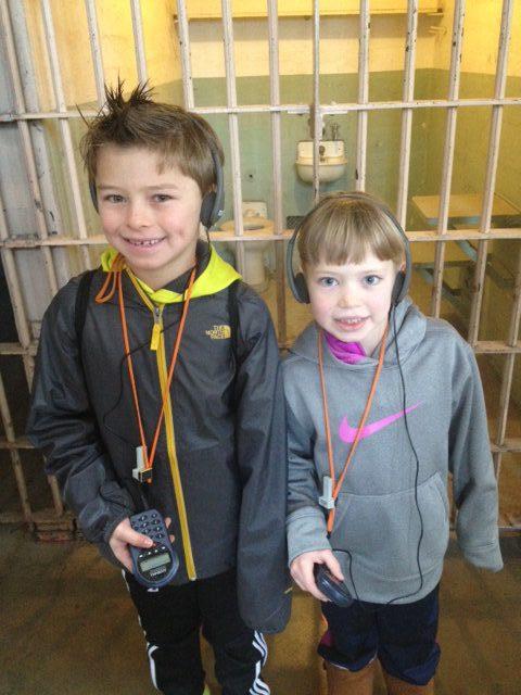 Alcatraz Island really excites kids visiting San Francisco