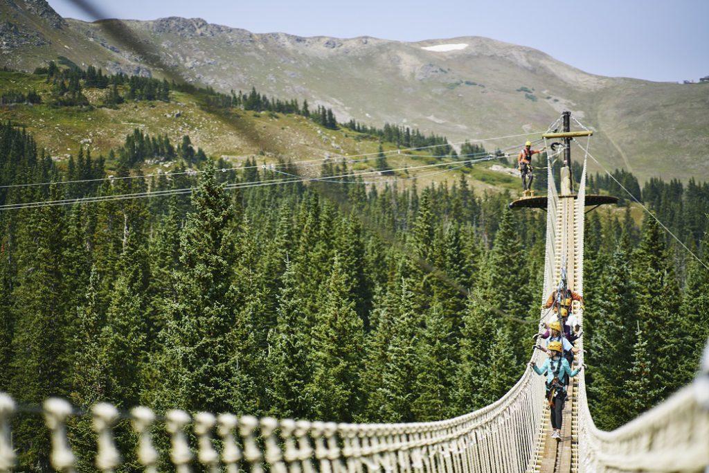 Epic Discovery zipline at Breckenridge, CO (Photo: Andrew Maguire)