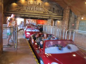 Families waiting hours for new attractions at Cars Land at Disney California Adventure