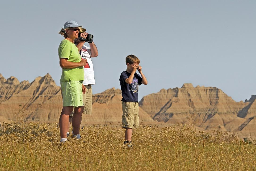 Badlands National Park, South Dakota. (South Dakota Tourism/TNS)