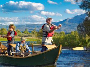 Fly fishing in Colorado