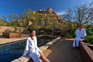Garden at the Boulders Spa in Scottsdale