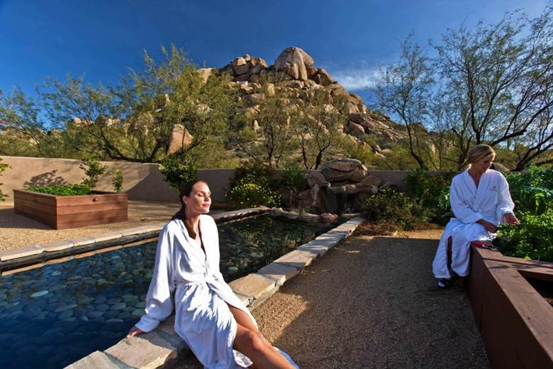 A day at the Camelback Spa in Scottsdale AZ