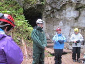 Getting the history of El Capitan cavern near Dry Pass