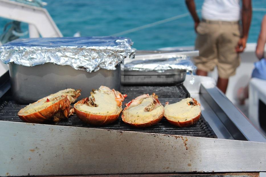 A day trip off Antigua's beaches on a 65-foot catamaran