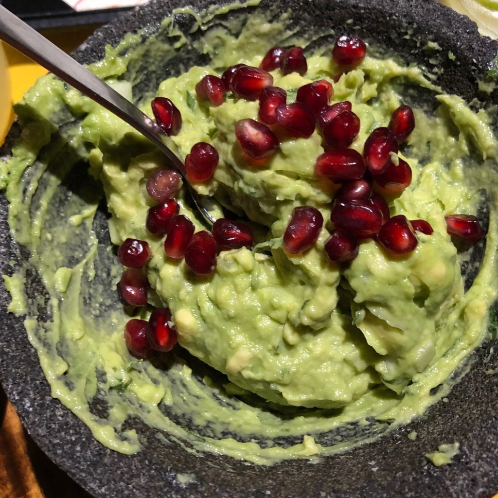 Guacamole made tableside at Grand Residents Riviera Cancun