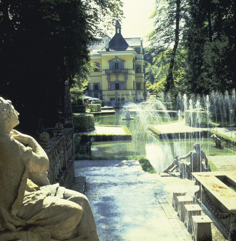 Hellbrunn Castle garden