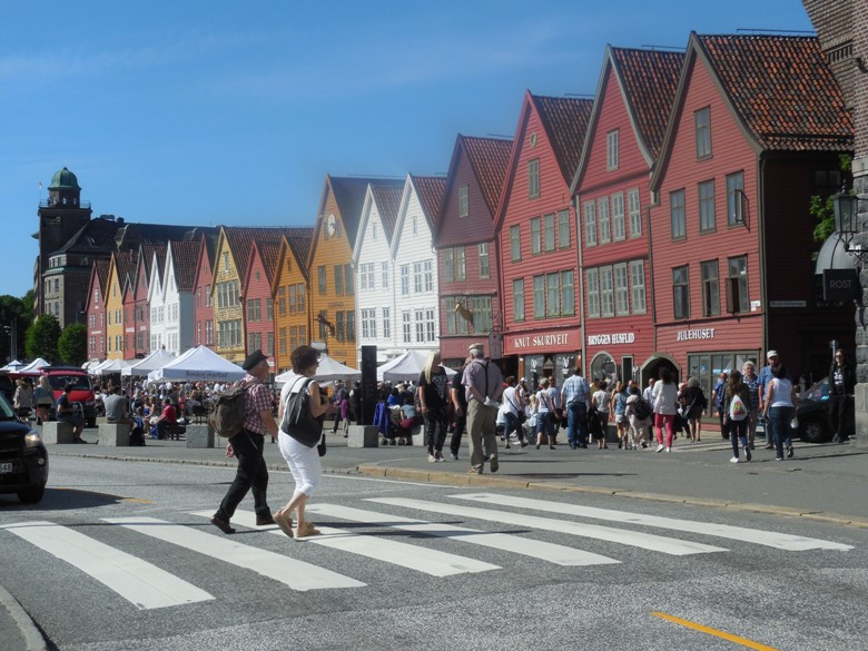 Historic Bergen - inspiration for movie Frozen