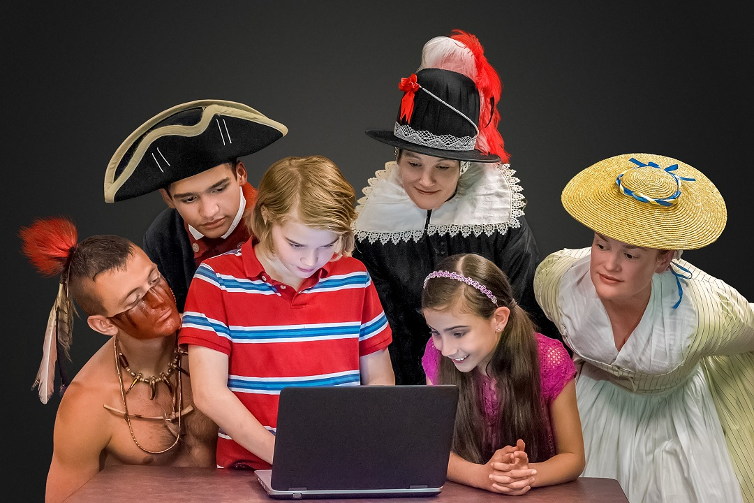 History is Fun at Home virtual learning