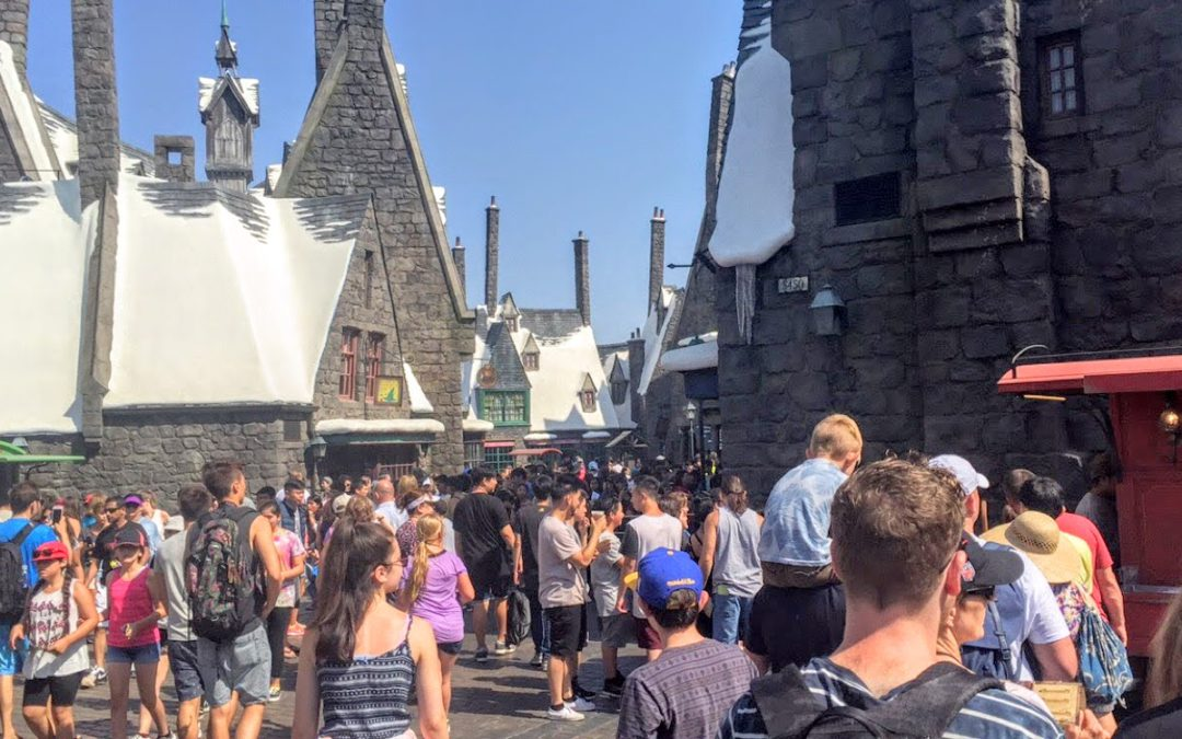 Wizarding World Comes to Life at Universal  Hollywood