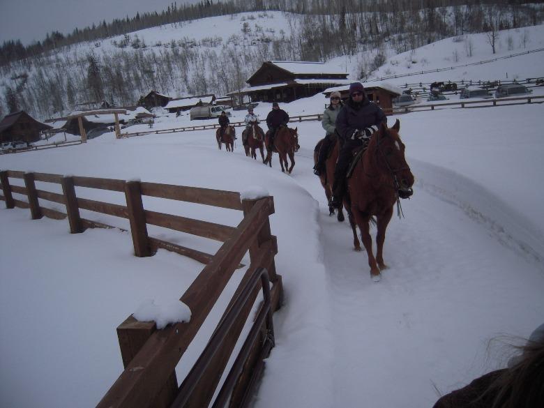 Horseride at Vista Verde Ranch