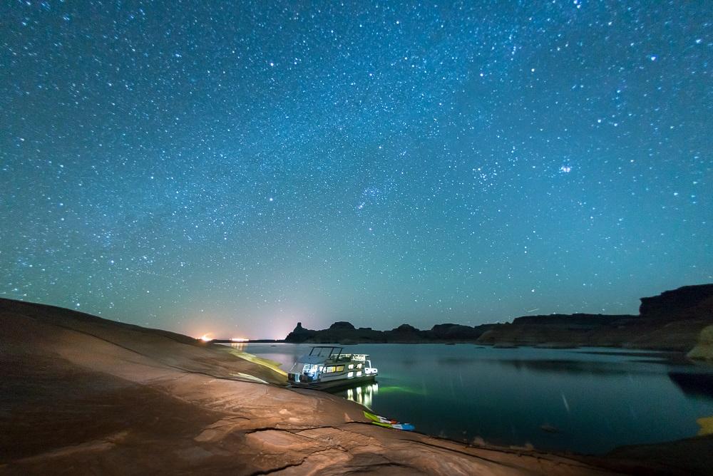 Houseboating on Lake Powell (Aramark/TNS)