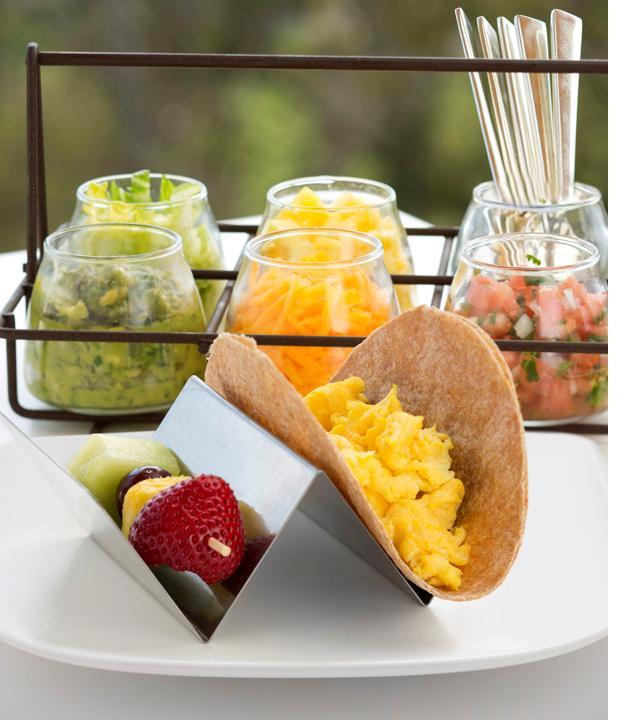 Hyatt's Build Your Own Tacos menu