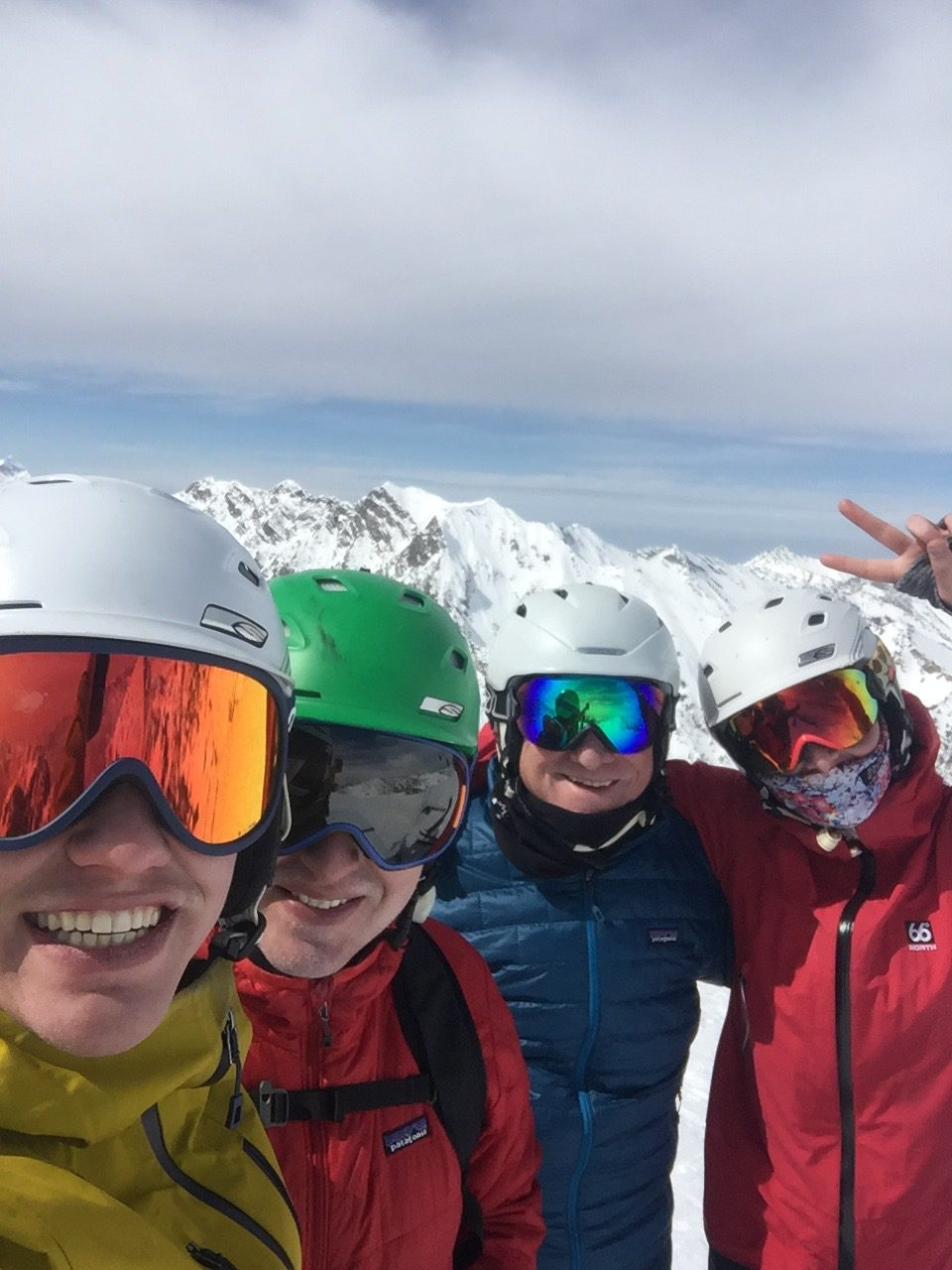 Some of the Kubert family at Alta March 2021