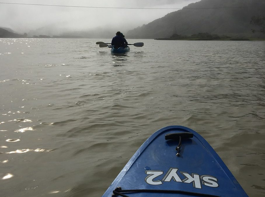 On the Russian River in Sonoma County CA