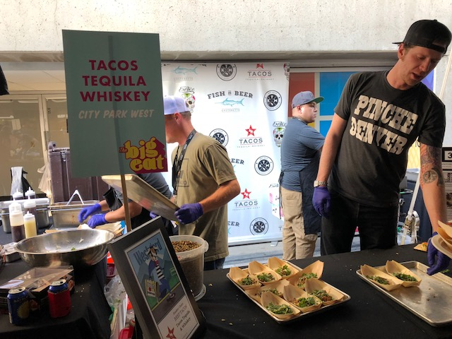 Samples from Tacos Tequila Whiskey