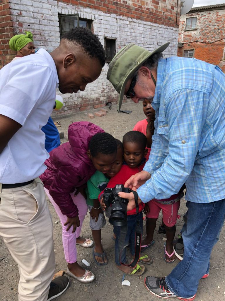 Langa Township kids like to see themselves in camera images
