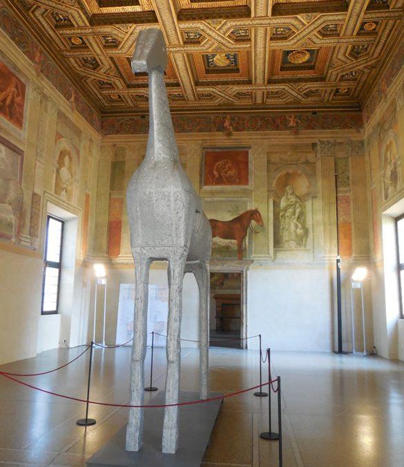 Salamanders, giants, horses — a Renaissance palace
