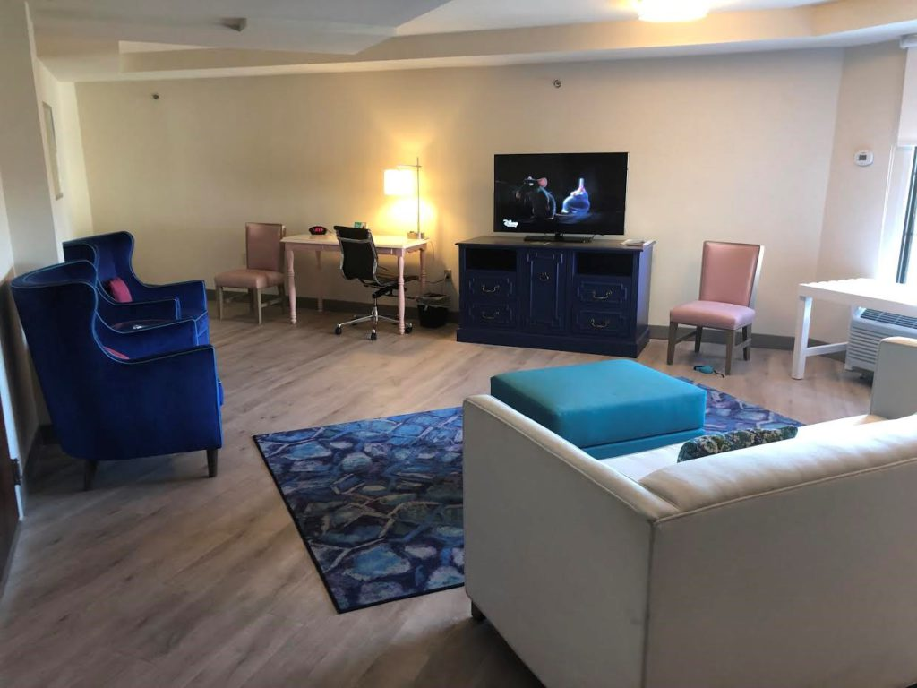 Inside the family-friendly suites