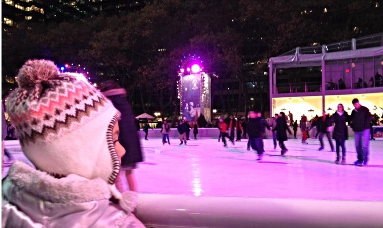 Take the Kids Skating at The Rink at Bryant Park