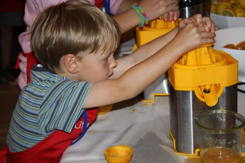 In Aspen, kids playing with their food is encouraged!