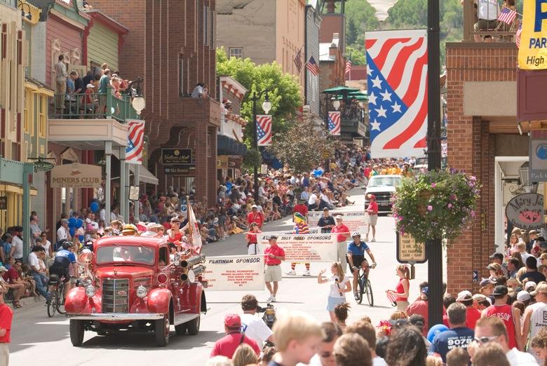 July 4 Parade in Park City Utah