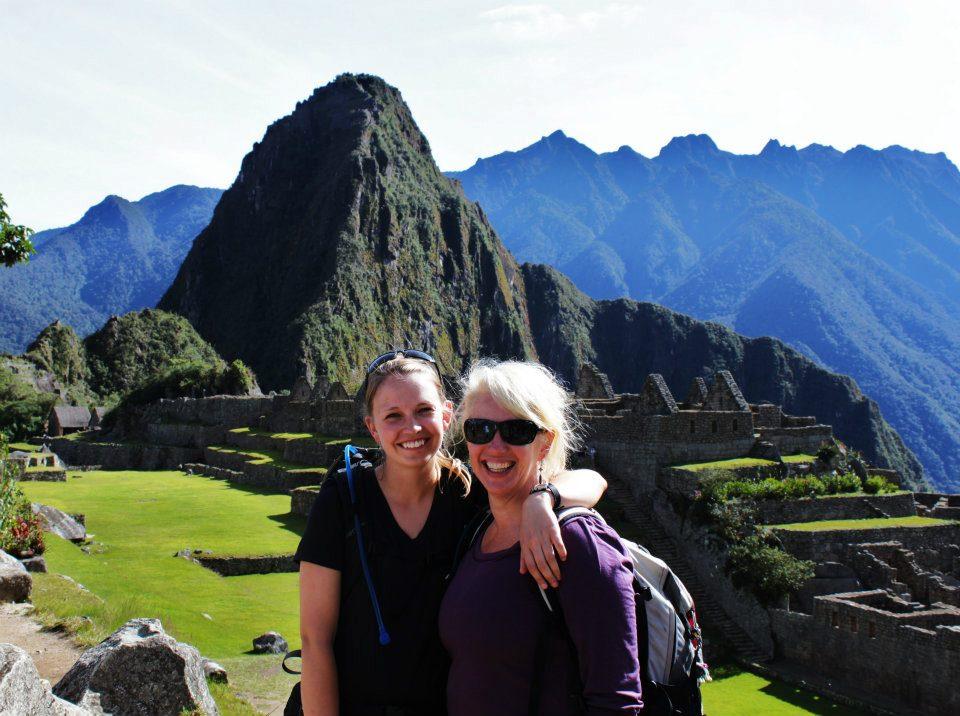 Eileen and Melanie in Austria 2009