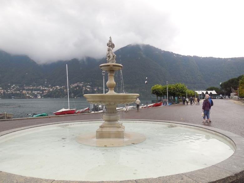 Exploring the beautiful villas along the shore of Lake Como, Italy