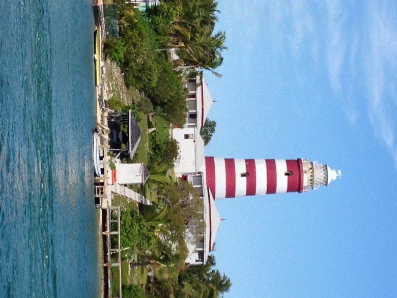 Lighthouse symbolizes Abaco