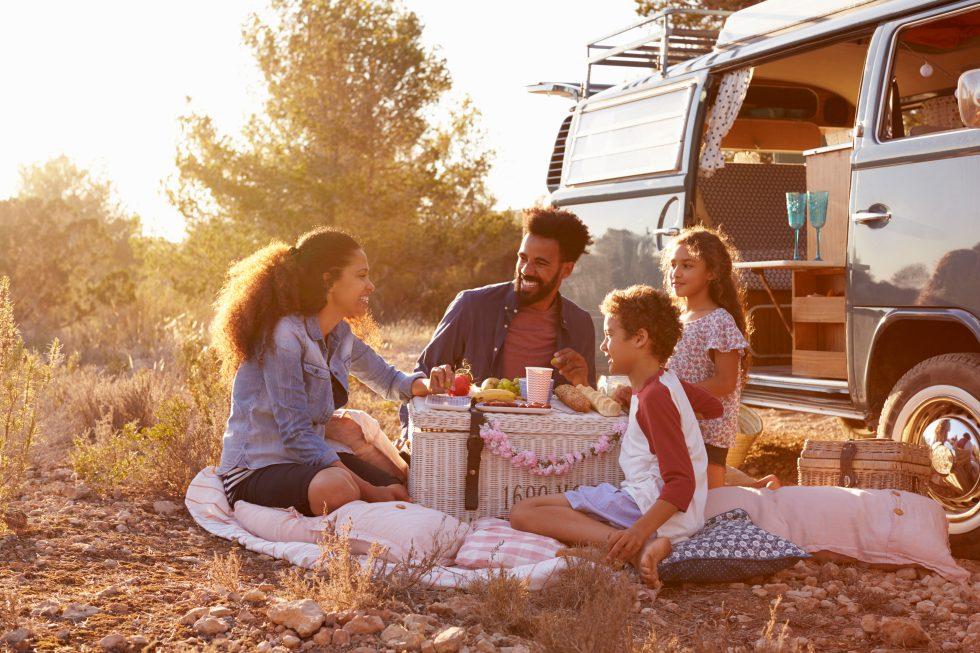 Lipton family picnic road trip