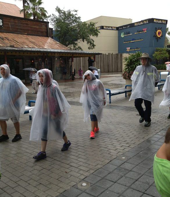 What if it rains when you're in Orlando?  No worries.
