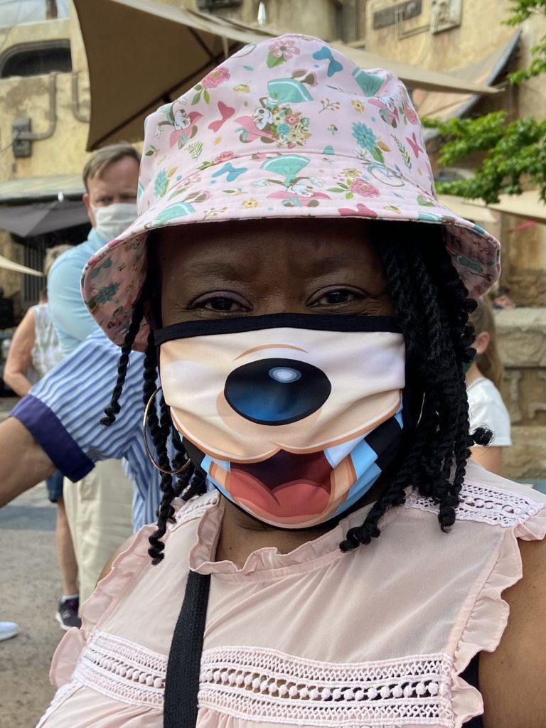 Masks still required at Walt Disney World - some very creative