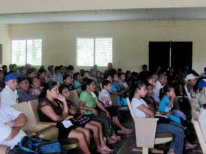 Maya Mountain Cacao's annual farmers meeting