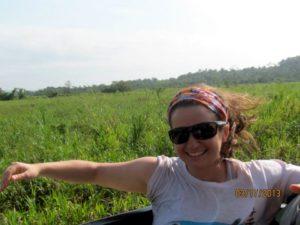 Mel in rural Belize