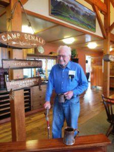Morton (Woody) Wood, a founder of Camp Denali