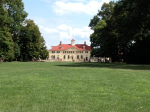 Bowling green lawn at Mount Vernon
