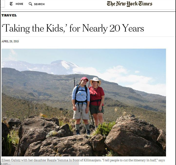 Nearly 30 years of Taking the Kids – NY Times