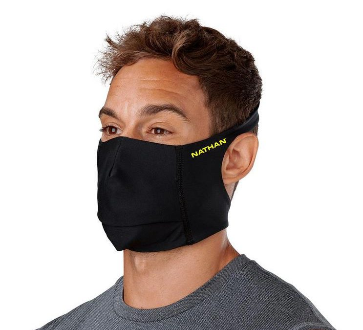 Nathan face masks for runners and walkers